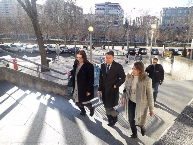 El expresidente de la Comunidad de Madrid Ignacio González llega al juicio de lo
