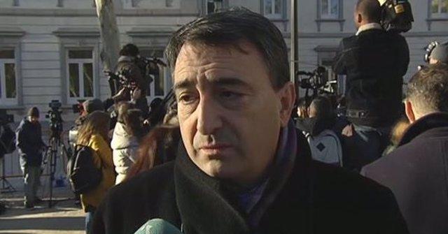 Aitor Esteban (PNV)  cree que, con el juicio del procés, se dilucida si la Justi