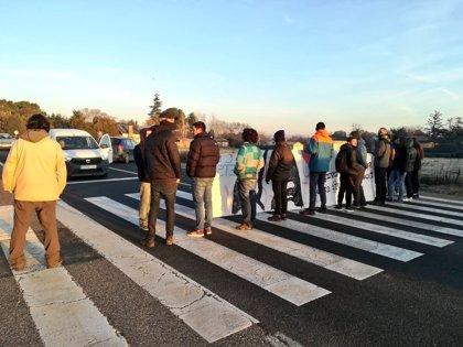 El CDR de la UdL talla l'entrada a Lleida per l'avinguda Rovira Roure