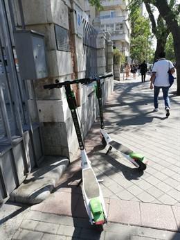 Patinetes eléctricos en Madrid