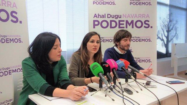 Ione Belarra, portaveu adjunta de Podem al Congrés