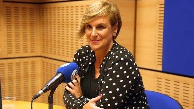 Itxaso Atutxa (PNB) en una entrevista a Onda Vasca