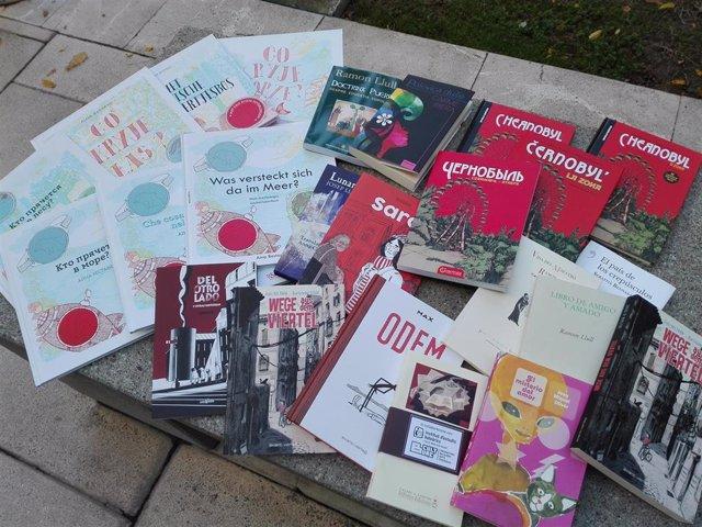 Libros traducidos por el IEB (Imagen de recurso)