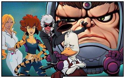Marvel prepara cuatro series de animación para Hulu, entre ellas la de Howard el pato con Kevin Smith