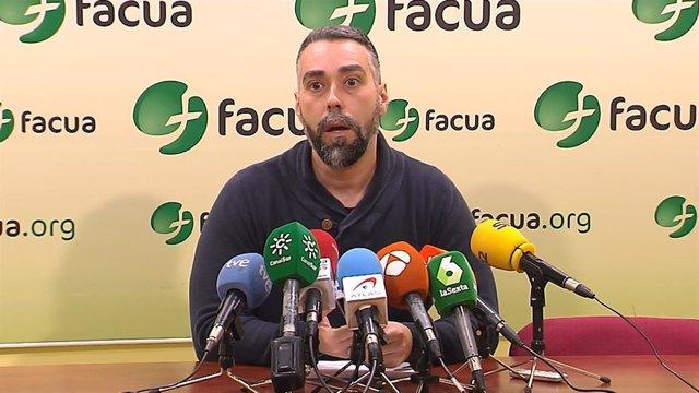 El portaveu de Facua, Rubén Sánchez