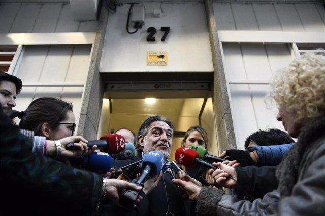 Pepu Hernández presenta su precandidatura a las primarias del PSOE-M