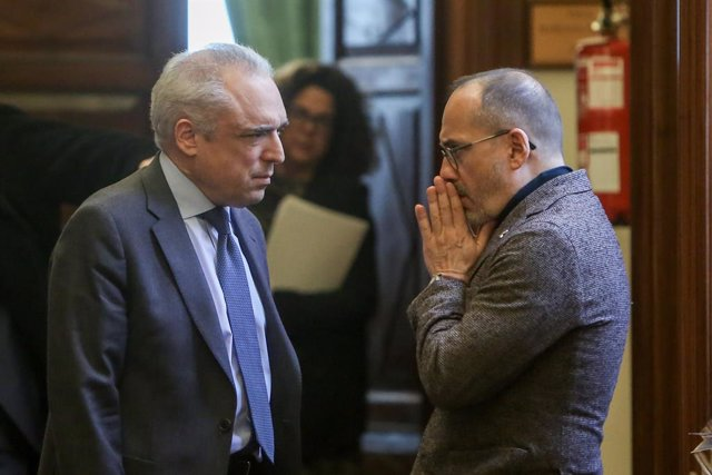 Rafael Simancas i Carles Campuzano