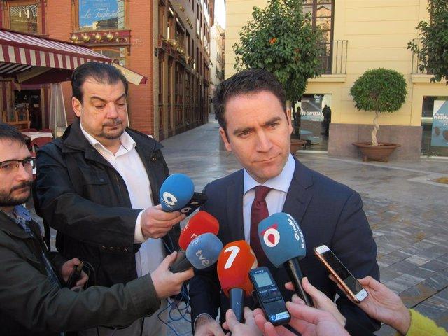 El secretari general del PP, Teodoro García Egea