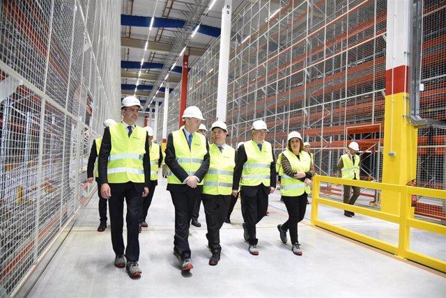 Inauguración nueva nave Amazon en Illescas (Toledo)