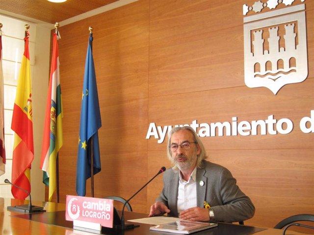 El Concejal De Cambia Logroño, José Manuel Zúñiga
