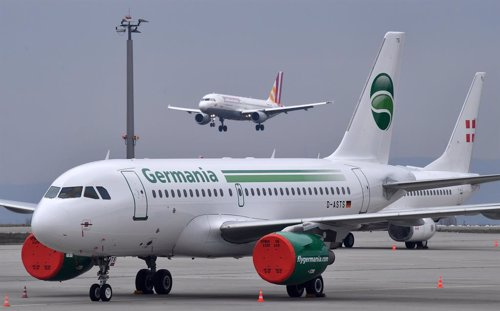 Germania airline insolvent in Germany