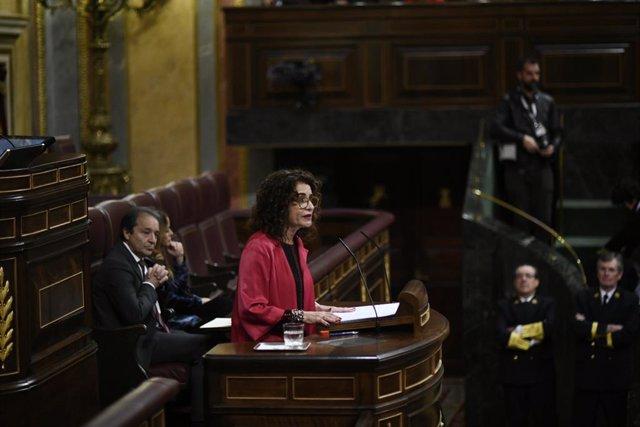 Ple al Congrés dels Diputats amb el debat d'esmenes a la totalitat