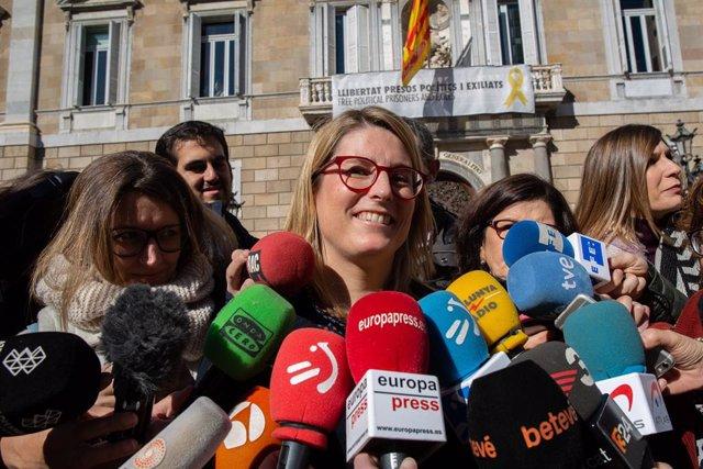La consellera de la Presidència, Elsa Artadi