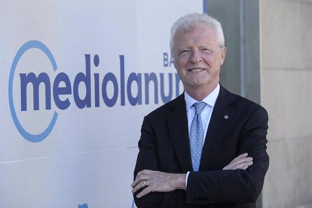 Vittorio Colussi, conseller delegat del Banc Mediolanum