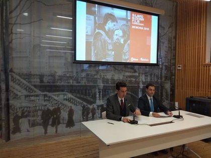 Las 128 producciones rodadas en Bilbao y Bizkaia en 2018 generaron 13 millones