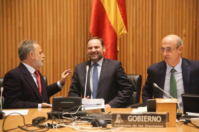 Comparecencia del ministro de fomento, José Luis Ábalos, para informar sobre el