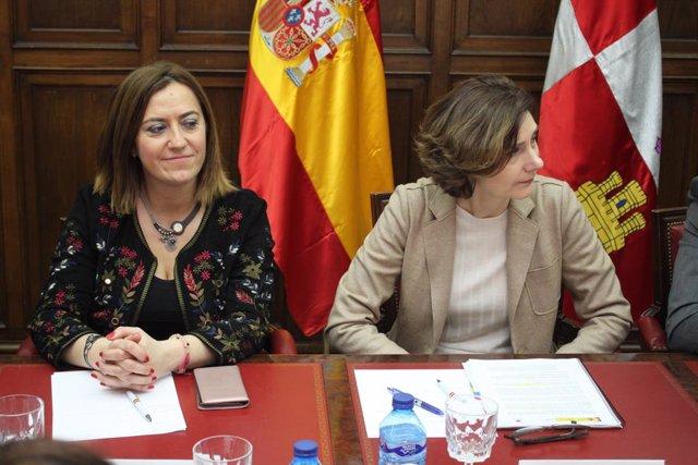 Barcones e Isabel Oliver en Soria