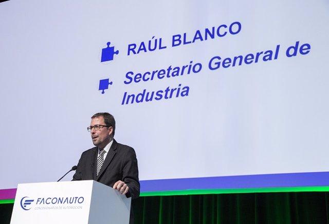 Raül Blanco, secretario general de Industria y de la Pyme