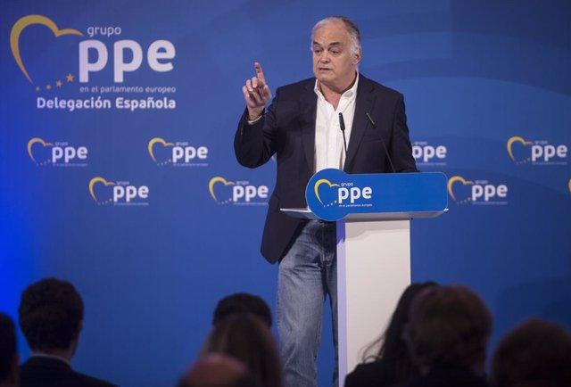 El portaveu del PP al Parlament Europeu, Esteban González Pons