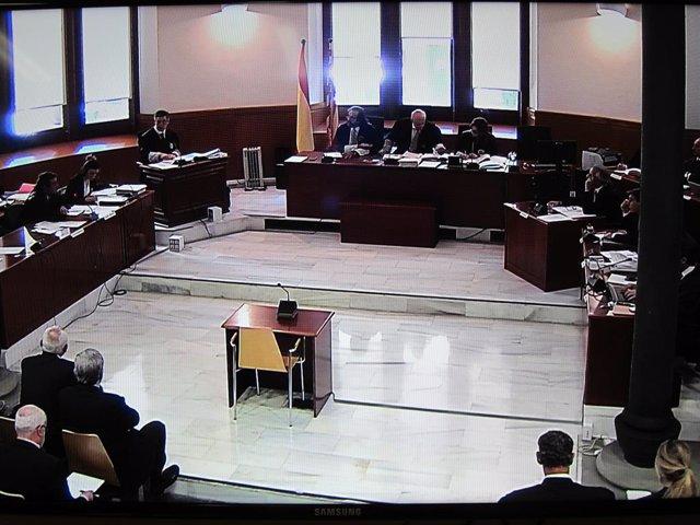 Judici pels sous de Catalunya Caixa, amb els acusats N.Serra i A.Todó