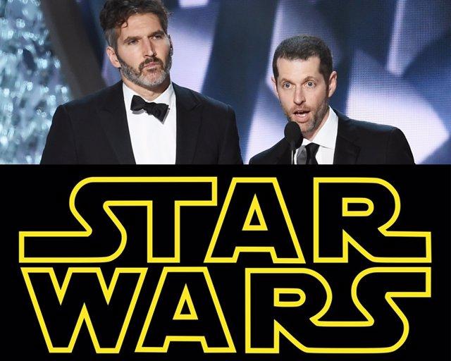 Los creadores de Juego de tronos preparan una trilogía de Star Wars