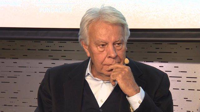 L'expresident del Govern, Felipe González