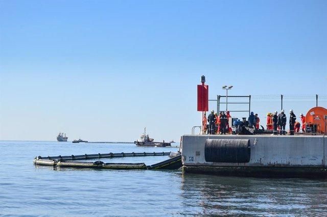 El Port de Tarragona ha dut a terme un simulacre del Pla Interior Marítim