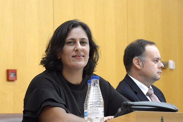Kissy Chandiramani, nueva diputada en el Congreso por Ceuta