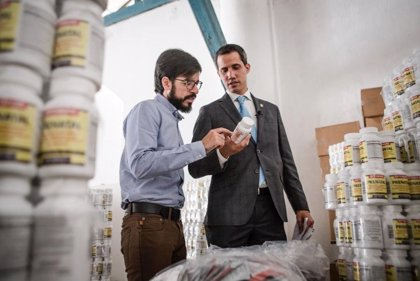 """Guaidó anuncia que el 23 de febrero """"será el día que ingrese la ayuda humanitaria en Venezuela"""""""