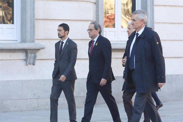 Inicio del juicio del procés en el Tribunal Supremo