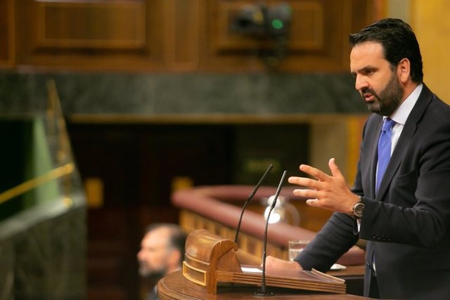 Íñigo Alli, diputado de UPN, en el Congreso