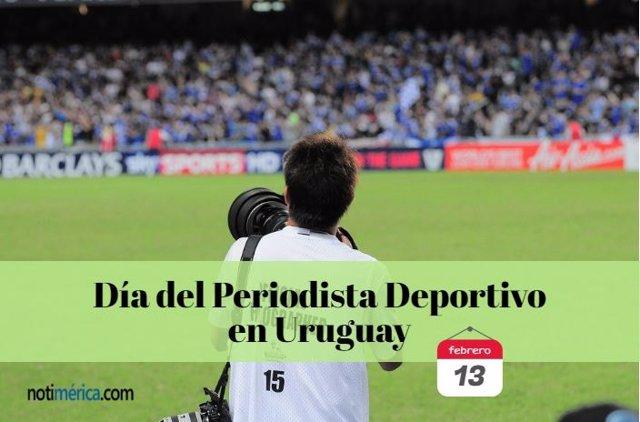 Día periodista deportivo uruguay