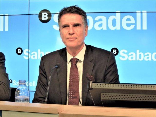 El conseller delegat del Banc Sabadell, Jaume Guardiola (arxiu)