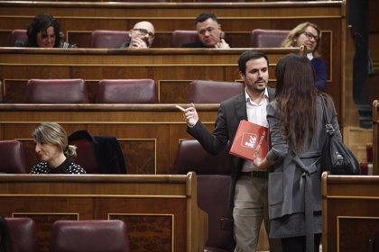 """Garzón demana a ERC i al PDeCAT que """"reconsiderin"""" el seu veto als pressupostos perquè no afavoreix el diàleg"""