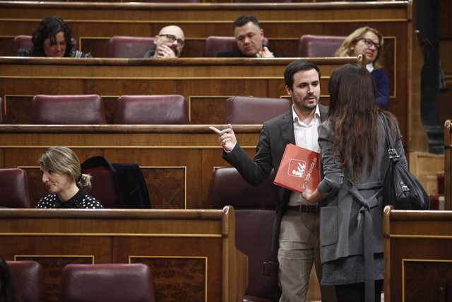 Alberto Garzón al Congrés