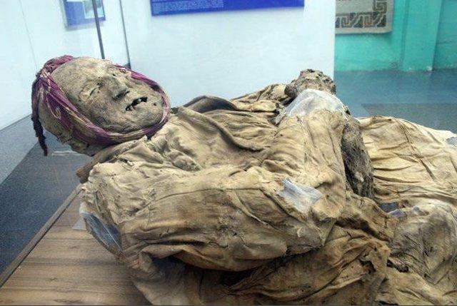 La momia de Guano, el fraile emparedado en una igelsia de ecuador