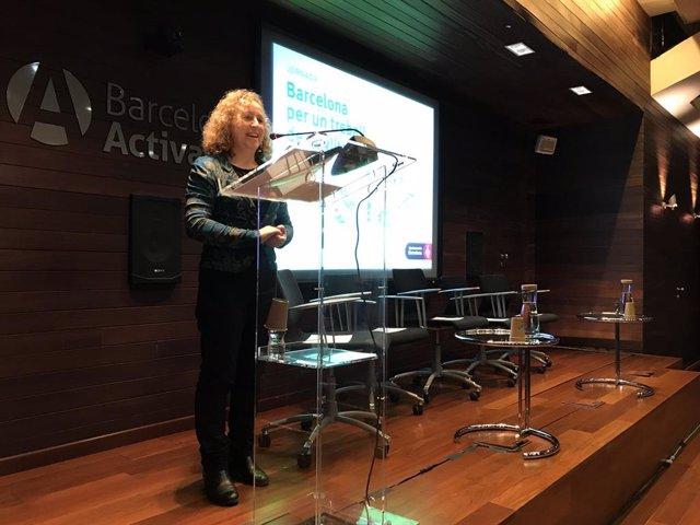 La directora general de Barcelona Activa, Sara Berbel
