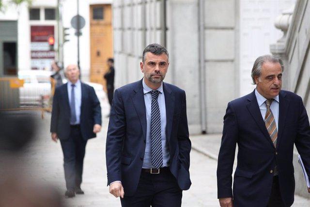 L'exconseller d'Empresa català Santi Vila arriba al Tribunal Suprem