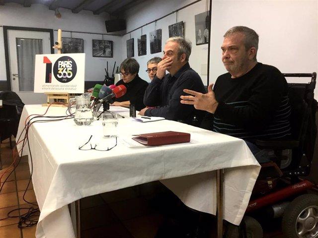 Rueda de prensa del décimo aniversario del comedor social Paris 365