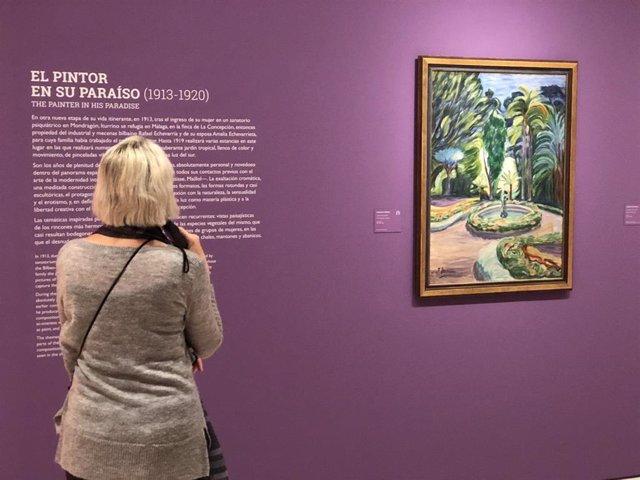 Exposición 'La furia del Color' en el Museo Thyssen de Málaga