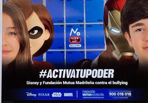 Campaña 'Activa tu poder' contra el acoso escolar de Fundación Mutua Madrileña y