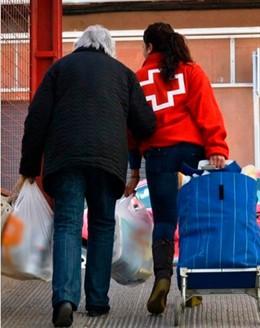 La mitad de las personas atendidas por Cruz Roja come menos de lo que debería