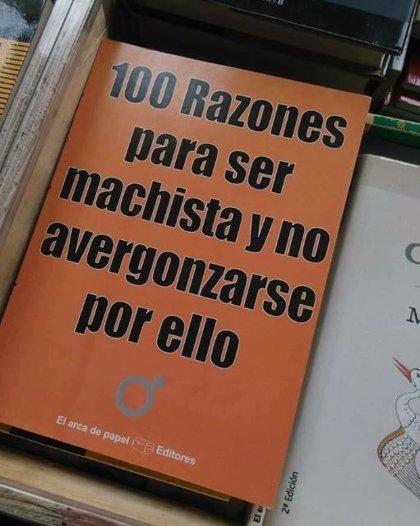 '100 razones para ser machista y no avergonzarse por ello', el libro que se ha colado en la Feria del Libro de La Habana