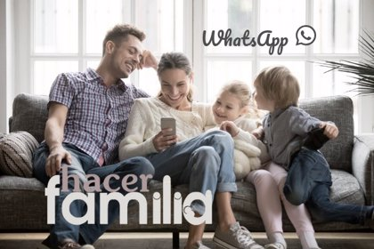 Hacer Familia te ha enviado un WhatsApp: date de alta