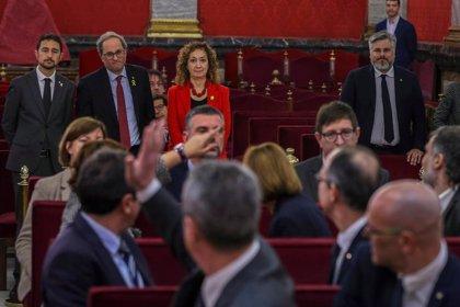 """Torra revindica el diàleg amb el Govern espanyol i insisteix que la República és """"l'objectiu"""""""