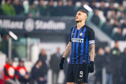 El Inter de Milán le quita la capitanía al delantero argentino Mauro Icardi