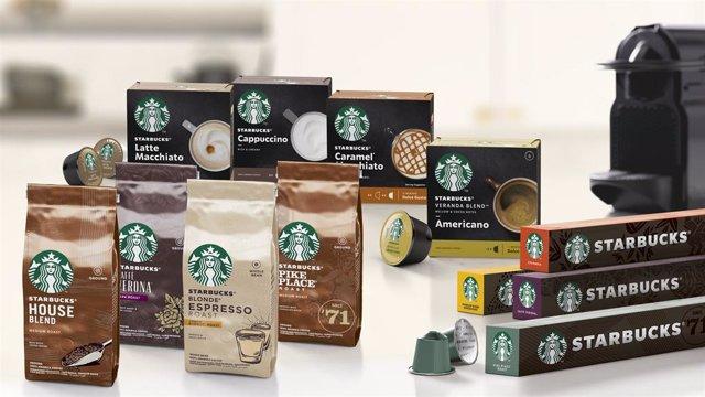 Nestlé presenta una gamma de productes Starbucks