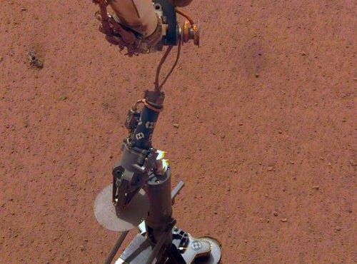 Sensor térmico de profundidad de la misión InSight