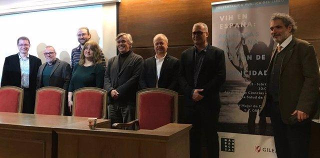Presentación del libro 'VIH en España'
