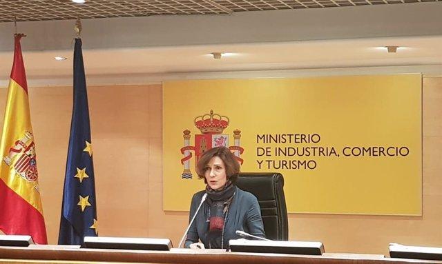 Isabel Oliver, secretària d'Estat de Turisme